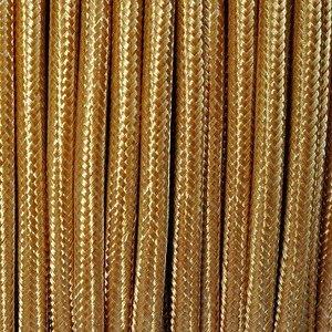 Murray Textielsnoer -glanzend goud-