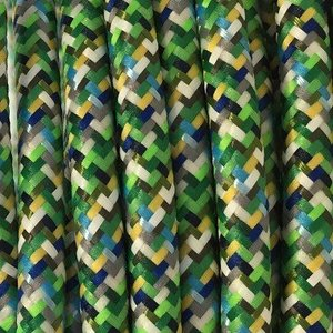 Murray Textielsnoer -multi groen-