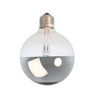Calex Lichtbron halogeen Globe kopspiegel -zilver-