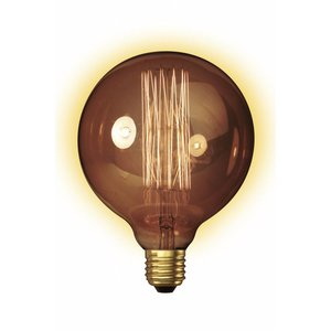 Calex Decospiraal Globe 60W -goud-