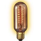 Calex Decospiraal Buis 40W dimbaar -goud-