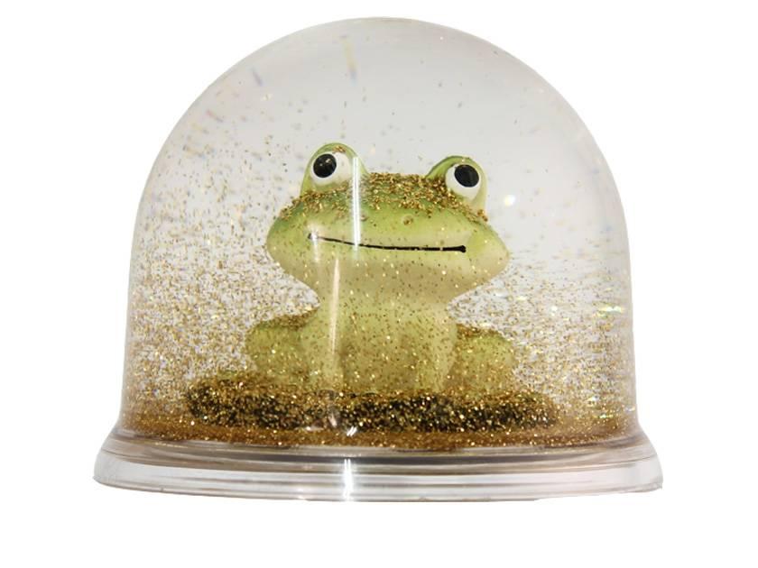 Eline Snel Frosch-Schneekugel