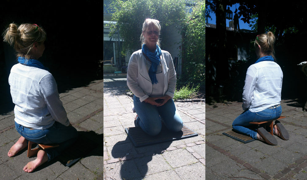 Ergo T Sit'n Go Meditatiekruk