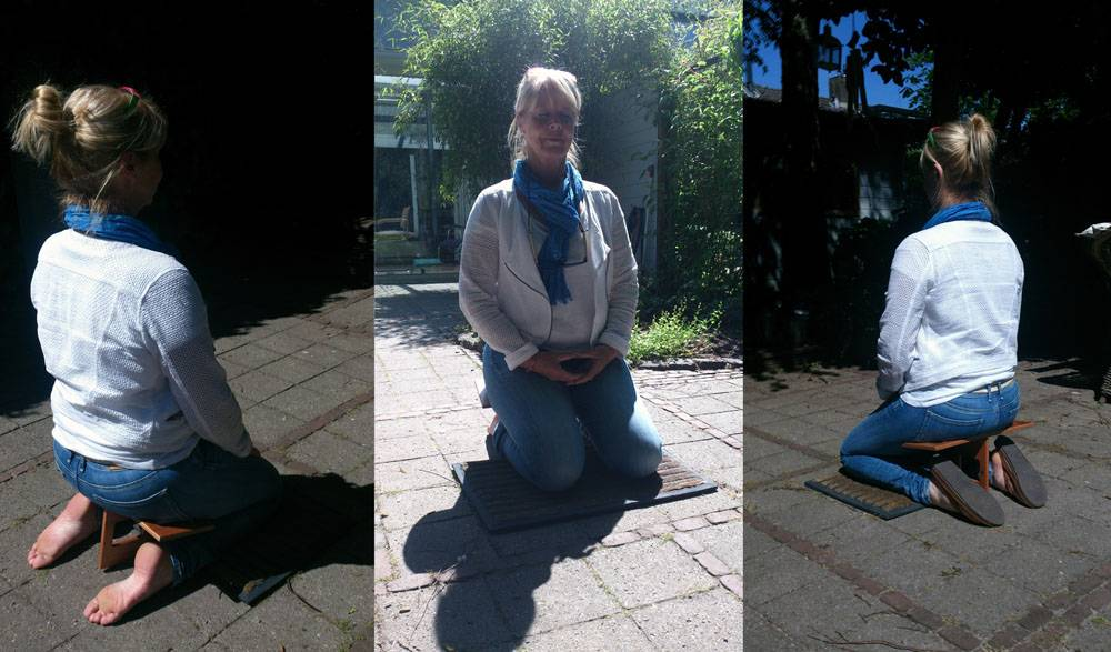 Eline Snel Meditation Stool for adults