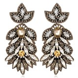 SUZANNA DAI BORGHESE LARGE DROP EARRINGS