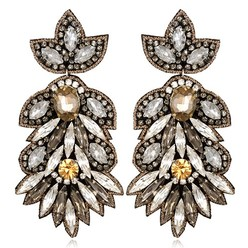BORGHESE LARGE DROP EARRINGS