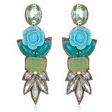 SUZANNA DAI FIJI DROP EARRINGS IN TURQUOISE