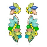 SUZANNA DAI TROPICALIA DROP EARRINGS