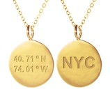 SAMANTHA FAY NEW YORK NECKLACE IN GOLD
