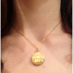 PARIS NECKLACE IN GOLD