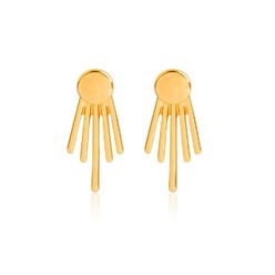 STUD EARRINGS IN GOLD