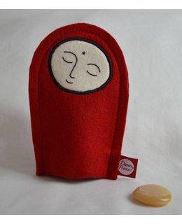 Jizo with Wishing Stone – Aventurijn