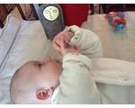 Jizo met knuffeldoekje voor baby
