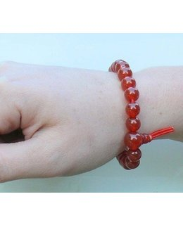 Mala bracelet Carnelian