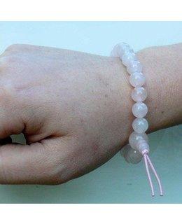 Mala bracelet rose quartz
