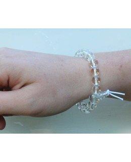 Mala bracelet Rock Crystal