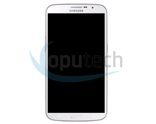 Samsung Galaxy Mega LCD Screen with Frame White