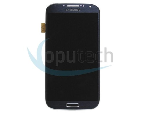 Samsung Galaxy S4 LCD Screen with Frame Black , Black Mist