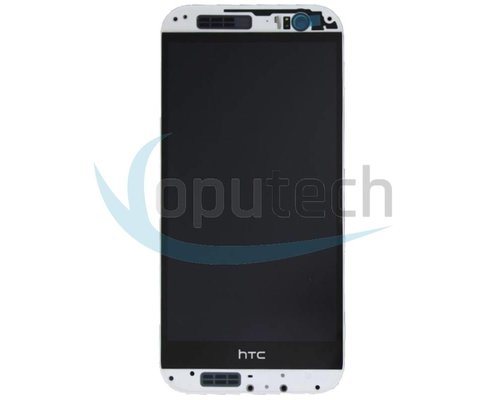 HTC One M8 LCD Screen with Frame White