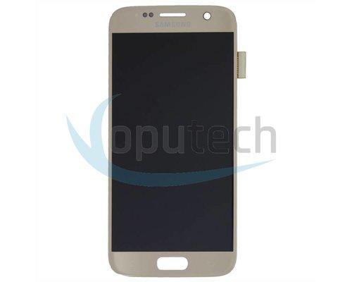 Samsung Galaxy S7 LCD Scherm Goud