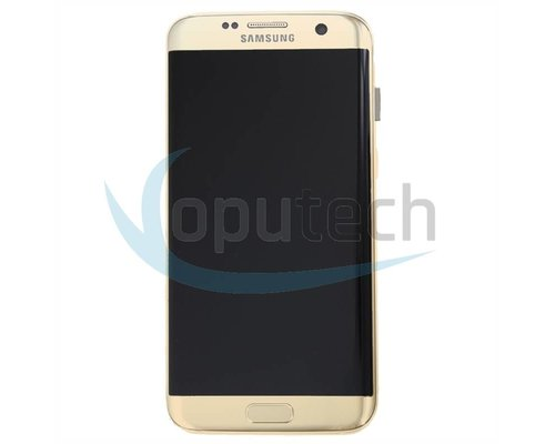 Samsung Galaxy S7 Edge LCD Scherm Goud