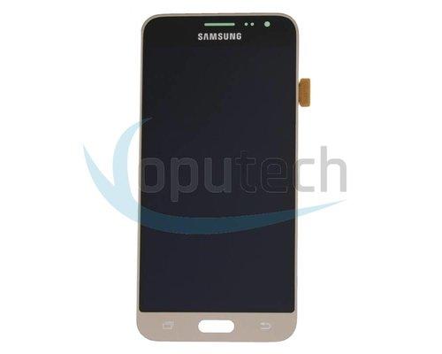 Samsung Galaxy J3 2016 LCD Scherm Goud