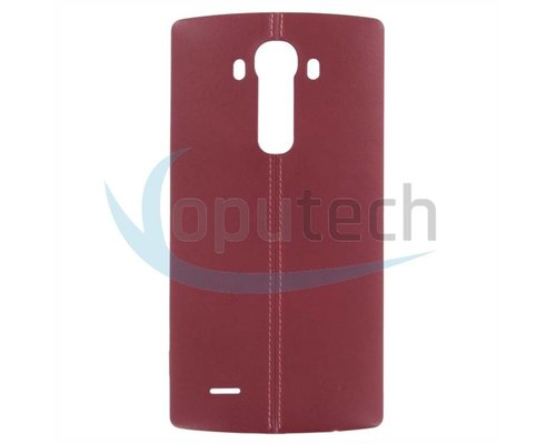 LG G4 Battery Door Red Leatherlook, With NFC