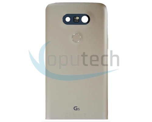 LG G5 Rear Housing Gold Assembly