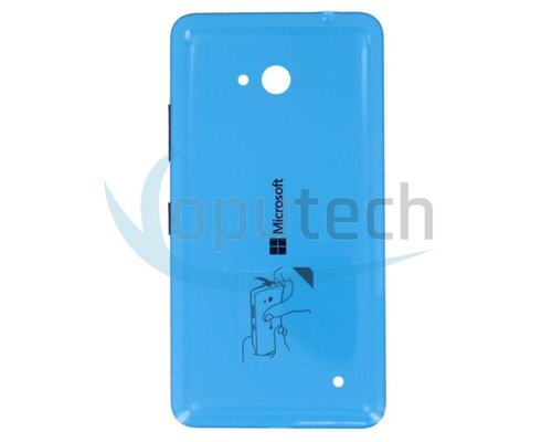 Microsoft Lumia 640, 640 Dual Sim Battery Door Cyan