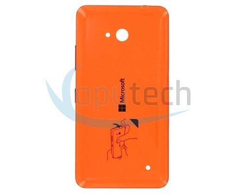 Microsoft Lumia 640, 640 Dual Sim Battery Door Orange
