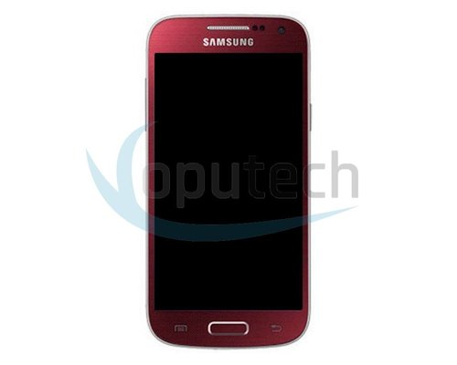 Samsung Galaxy S4 Mini LCD Screen with Frame Red