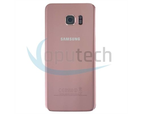 Samsung Galaxy S7 Edge Battery Door Pink