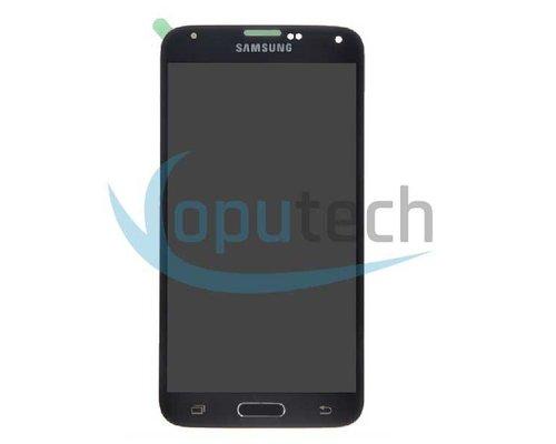 Samsung Galaxy S5 LCD Scherm Zwart, Blauw