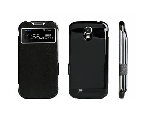 Galaxy S4 Back-up Battery Case Met Cover Zwart