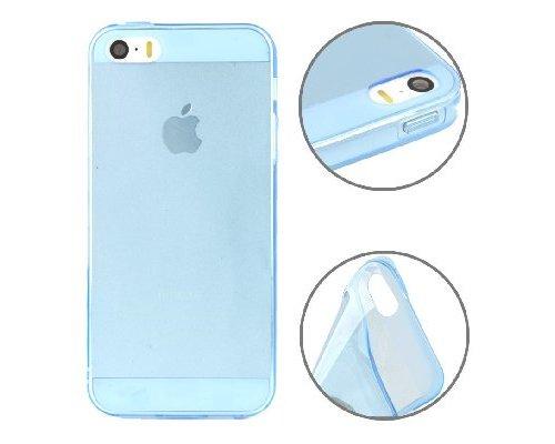 iPhone 5/5s Case Transparant/Blauw