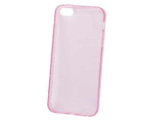 iPhone 5/5s Case Transparant/Roze