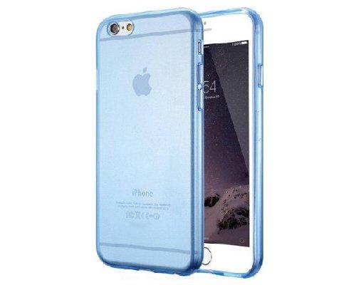 iPhone 6/6s Plus Case Transparant/Blauw