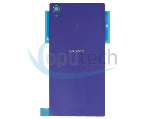 Sony Xperia Z1 Battery Door Purple