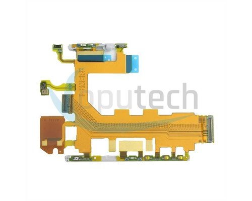 Sony Xperia Z2 Power and Volume Flex Cable with Microphone