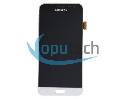 Samsung Galaxy J3 2016 LCD Scherm Wit