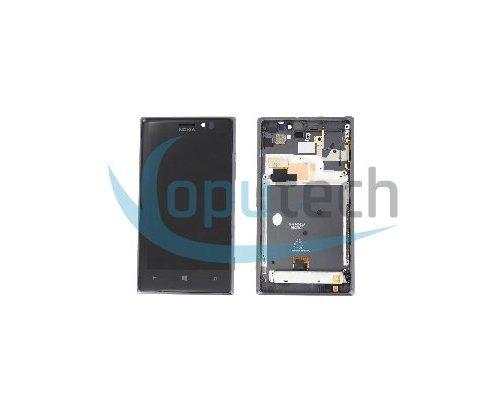Nokia Lumia 925 LCD Screen with Frame Dark Grey