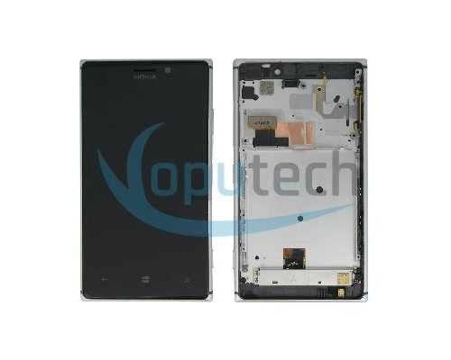 Nokia Lumia 925 LCD Screen with Frame Silver