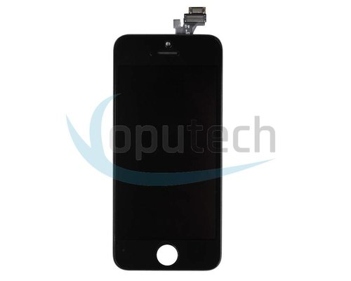 iPhone 5S LCD Screen with Frame Black Refurbished