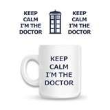 Doctor Who Keep Calm I'm The Doctor - Mok