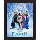 Frozen - 3D Poster in lijst