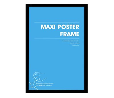Wissellijst hout  maxi poster