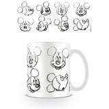 Mickey Mouse Sketch Faces - Mok