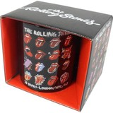 Rolling Stones Tongue Evolution - Mok
