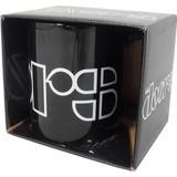 The Doors Logo Black - Boxed Mok
