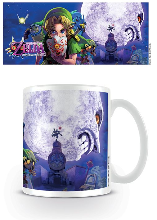 The Legend Of Zelda Majorau0026#39;s Mask Moon - Mok - Merchandisehouse.nl ...